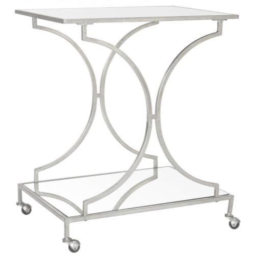 Ignatius Bar Cart - Silver