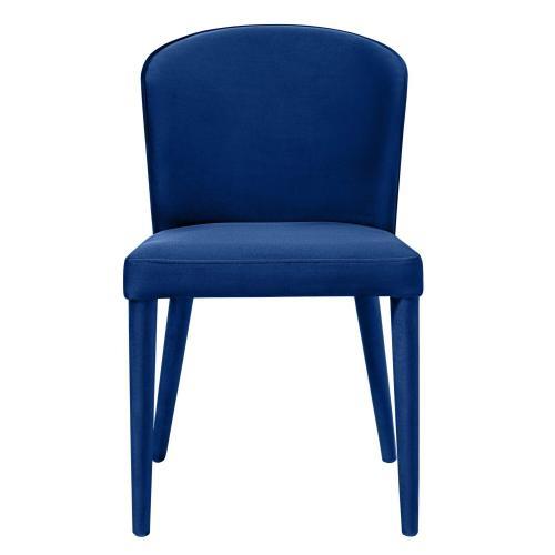 Tov Furniture - Metropolitan Navy Velvet Chair