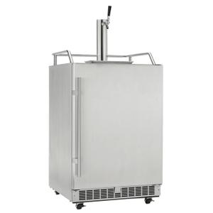 SilhouetteKeg Cooler Built-in, outdoor, full size Keg Cooler