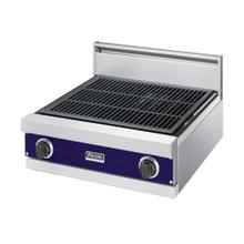 "Cobalt Blue 24"" Gas Char-Grill - VGQT (24"" wide char-grill)"