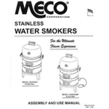 Stainless Steel Charcoal & Electric Smoker Owners Manual (Free Downloads)
