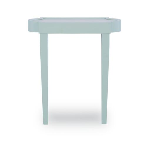 Accent Table, Blue