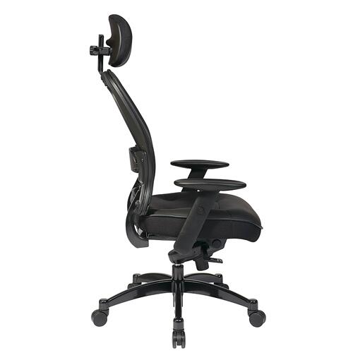 Office Star - Professional Black Breathable Mesh Back Chair