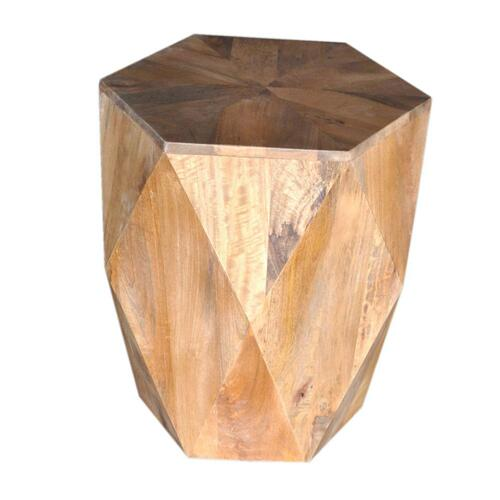 Pleasant Hill Hexagon End Table