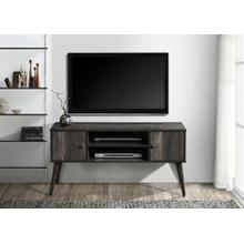 """See Details - 2026 RUSTIC GRAY Faux Wood TV Stand - 47"""" L"""