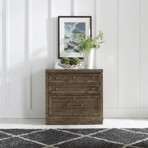 Bunching Lateral File Cabinet