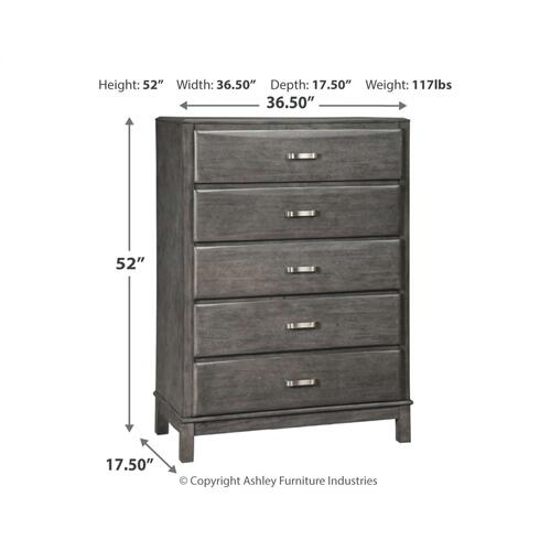 King Storage Bed With 8 Storage Drawers With Mirrored Dresser, Chest and 2 Nightstands