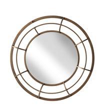 "Metal Frame 28"" Wall Mirror , Gold - Wb"