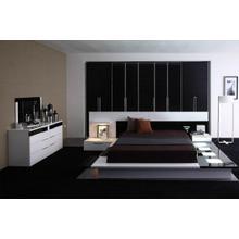 Modrest Impera Contemporary Lacquer Platform Bed