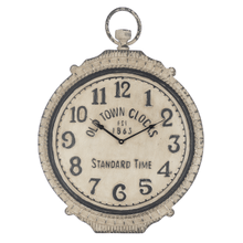 """Old Town Clocks"" Ornate Pocket Watch Wall Clock"
