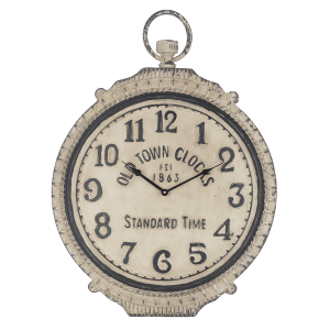 """Old Town Clocks"" Ornate Pocket Watch Wall Clock."