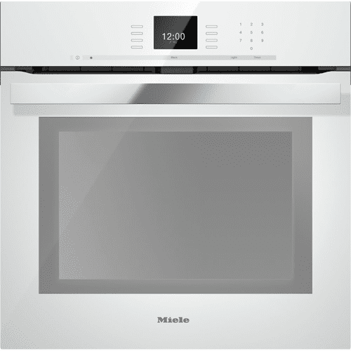 H 6660 BP AM - 24 Inch Convection Oven with AirClean catalyzer and Roast probe for precise cooking.