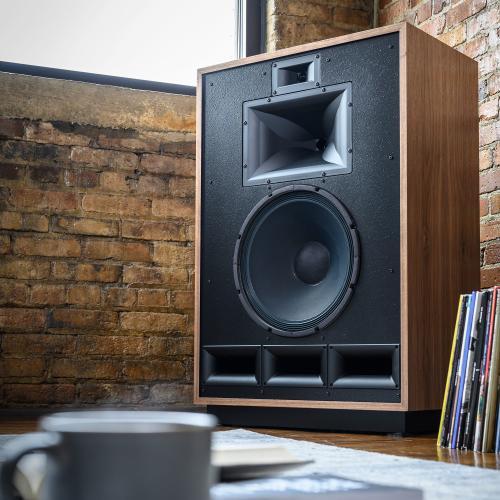 Klipsch - Klipsch Cornwall IV Floorstanding Speaker - Natural Cherry