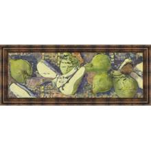 """Sparkling Pears I"" By Silvia Rutledge Framed Print Wall Art"