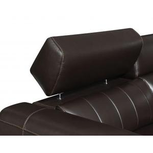 Nara Leather 6-PIece Dual-Power Sectional