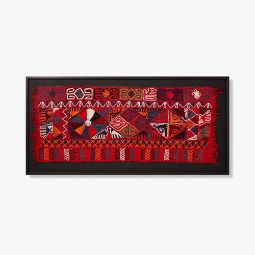 0306540029 Vintage Textile Wall Art