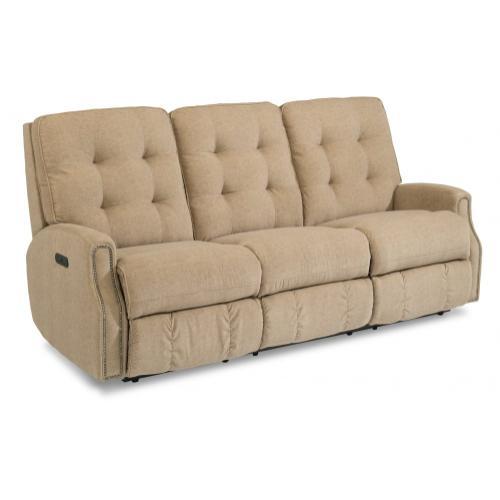 Devon Power Reclining Sofa with Power Headrests