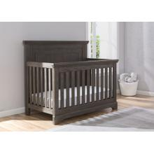 Paloma 4-in-1 Convertible Crib - Rustic Grey (084)