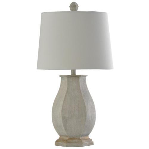 Basilica Sky  Traditional Table Lamp  100W  3-Way  Hardback Shade
