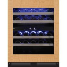 24in Wine Cellar 2 Zone Overlay Glass ADA Height