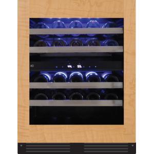 XO APPLIANCE24in Wine Cellar 2 Zone Overlay Glass ADA Height