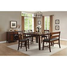 See Details - 6pc Counter Height Table Dining Set