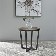 217-OT1020  Round End Table