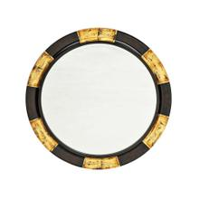 Chronograph Black and Gold Mirror