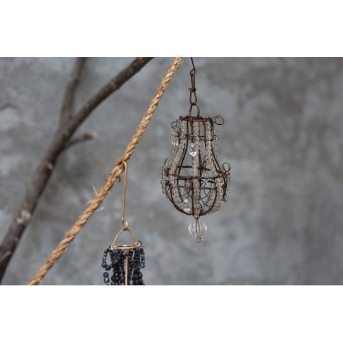 2.5'' x 4.5'' Bronze Chandelier Ornament