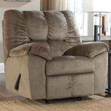 Signature Design by Ashley Julson Rocker Recliner in Dune Fabric