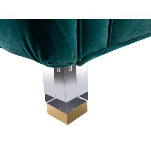 Tov Furniture - Rimini Green Velvet Sofa