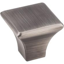 """1-1/8"""" Overall Length Square Cabinet Knob."""