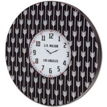 "Calabash II 33"" Oversize Contemporary Wall Clock"