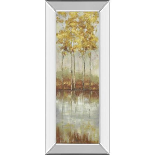 """""""Reflections Il"""" By Allison Pearce Mirror Framed Print Wall Art"""