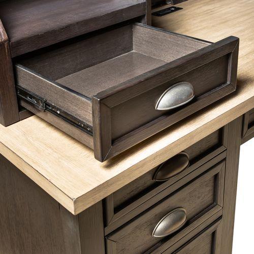 Liberty Furniture Industries - L Writing Desk Hutch