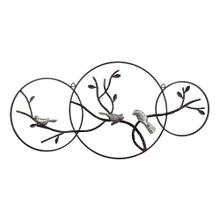 See Details - BIRDS ON A BRANCH WALL DECOR