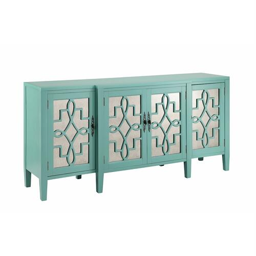 Stein World - Lawrence Cabinet In Turquoise