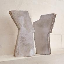 Wing Sculpture-Raku-Right