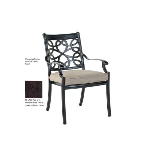 Grafton Stackable Dining Arm Chair- AW