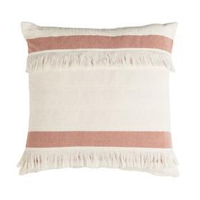 Nila Pillow - Mauve / Beige