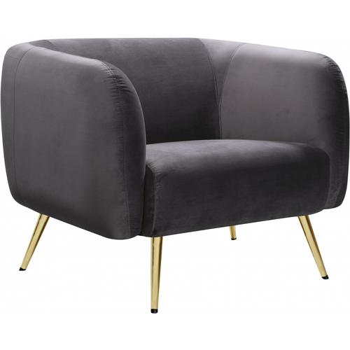 """Harlow Velvet Chair - 41"""" W x 33"""" D x 31.5"""" H"""