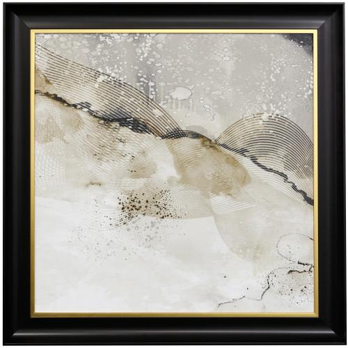 Style Craft - UPSIDE  42 X 42  Made in USA  Textured Framed Print