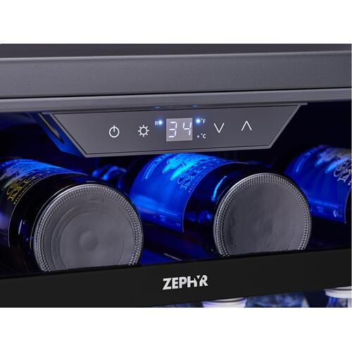 "24"" Panel Ready Single Zone Beverage Cooler"