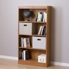 4-Shelf Bookcase - Country Pine