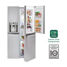 22 cu. ft. Large Capacity Side-by-Side Refrigerator w/Door-in-Door®