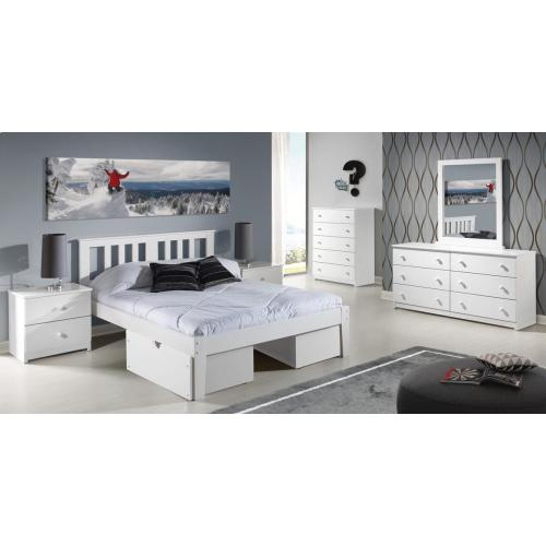Milan Platform Bed With Ubc