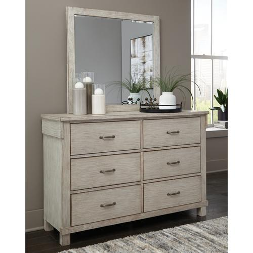 Hollentown Dresser and Mirror