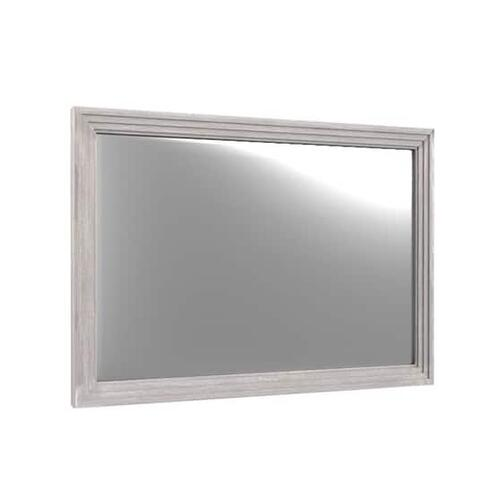 Megan Mirror Chippy Gray
