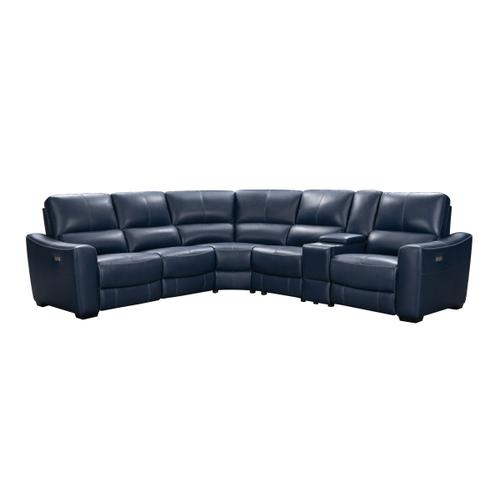 Stanford Sectional Navy-Blue