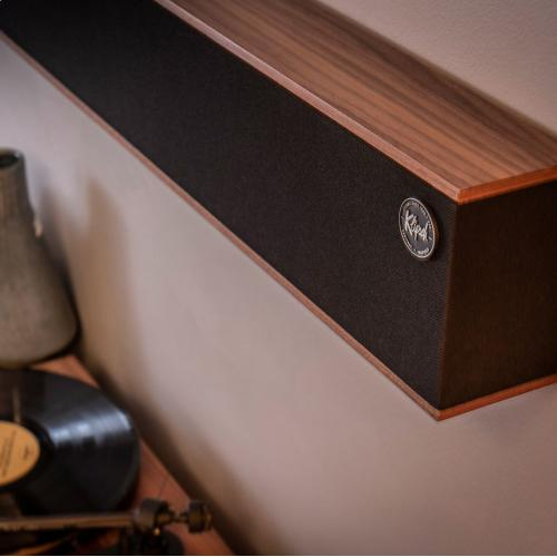 Heritage Theater Bar - High End Sound Bar - Black Ash